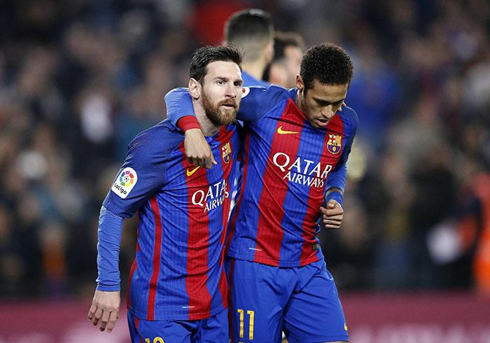 Me gustaría ver a Neymar en el Barça, necesita recuperar la sonrisa