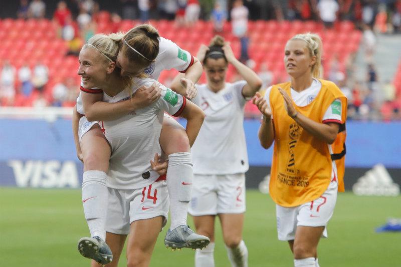 Inglaterra avanzó a Cuartos del Mundial Femenil tras vencer a Camerún