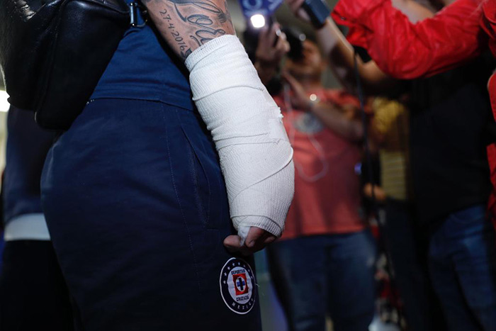 Milton Caraglio se lesiona en Oaxaca