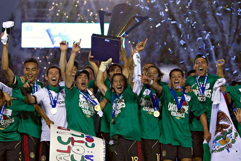México fue Campeón del torneo Copa Oro 2011
