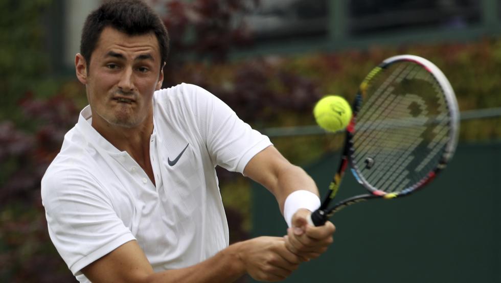 Wimbledon sancionó a Tomic por su