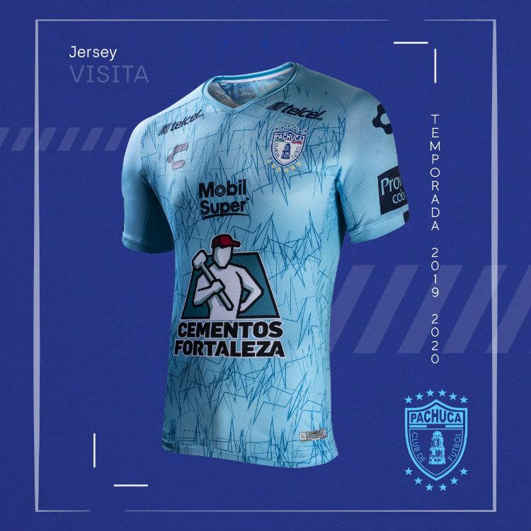 Jersey de Pachuca como visitante para el Apertura 2019