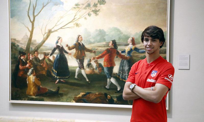 Presentan al portugués Joao Félix con el 'Atleti'