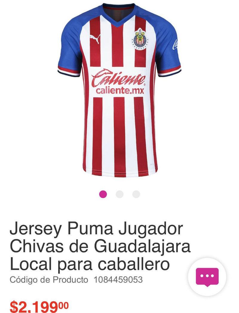 Camiseta de local de Chivas para el Apertura 2019