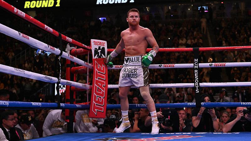 Sául Álvarez, previo a la pelea ante Daniel Jacobs