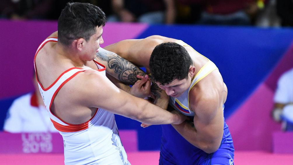 Venezuela conquista oro en lucha grecorromana en Panamericanos
