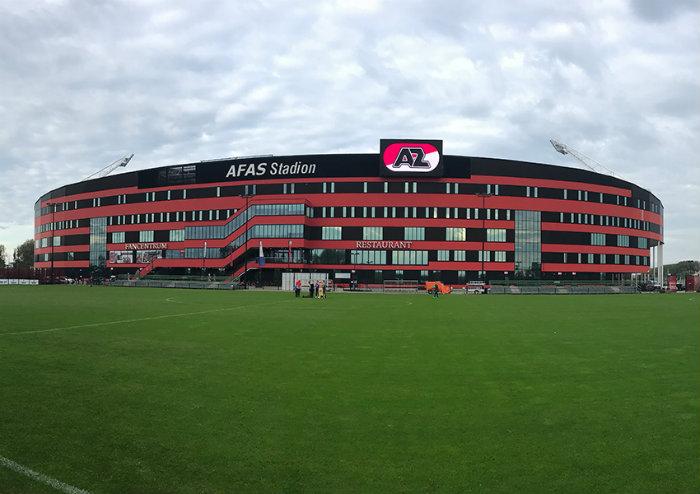 Se desploma parte del estadio del AZ Alkmaar holandés