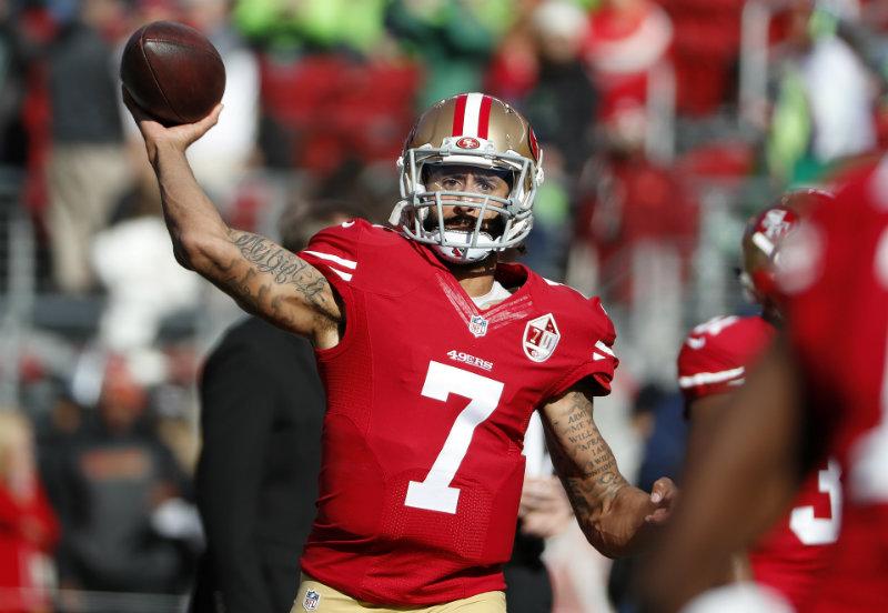 Colin Kaepernick sorprende con su estado de forma — NFL