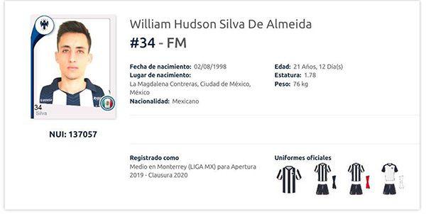 Rayados registra jugador brasileño para AP2019 — LIGA MX