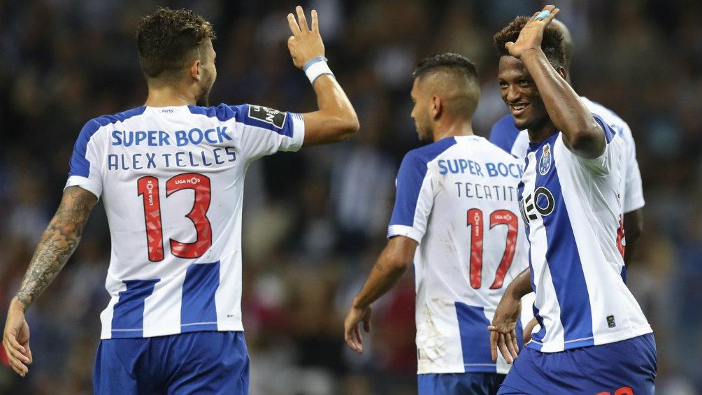 Luis Díaz tuvo su bautizó de gol en la Liga de Portugal