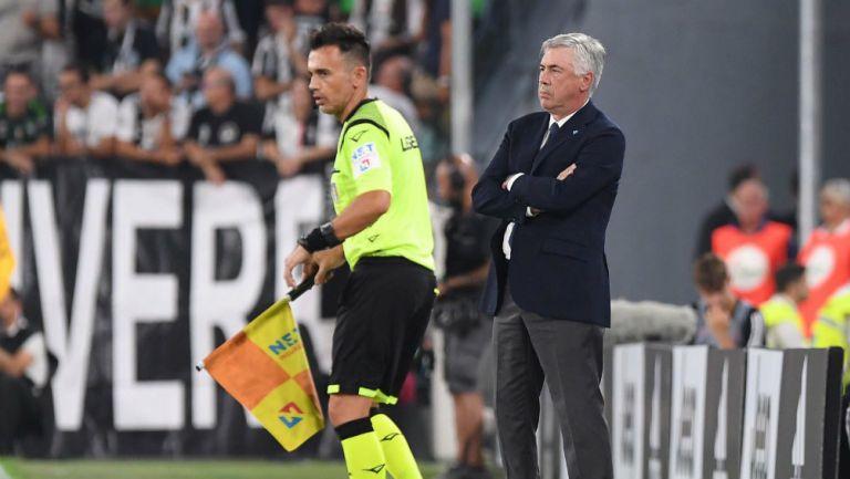 El Estadio San Paolo aún no tiene listos los vestidores — Ancelotti explotó
