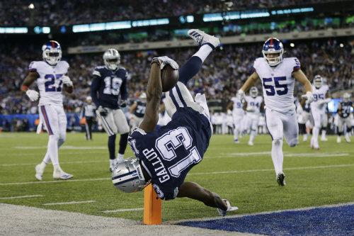 Cowboys doblegan a Giants
