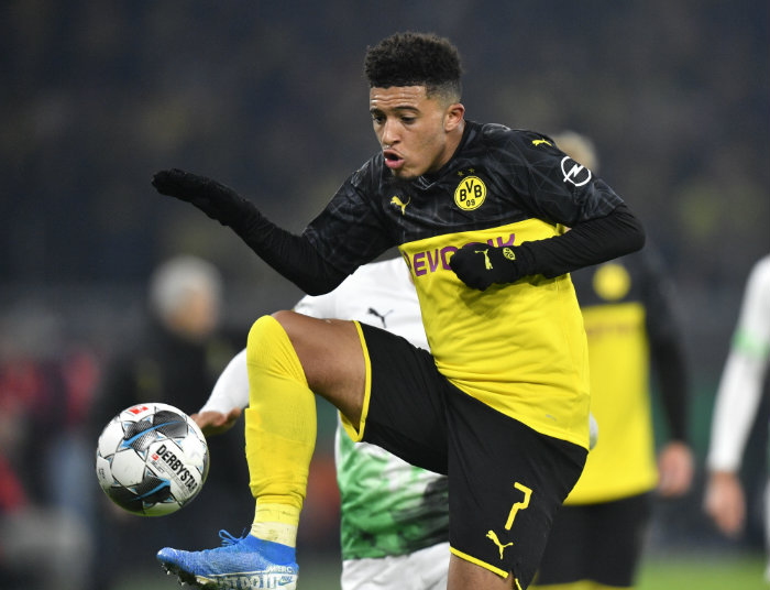 116 millones del Real Madrid por Sancho — Daily Mail