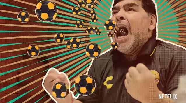 Maradona y los Dorados de Sinaloa llegan a Netflix