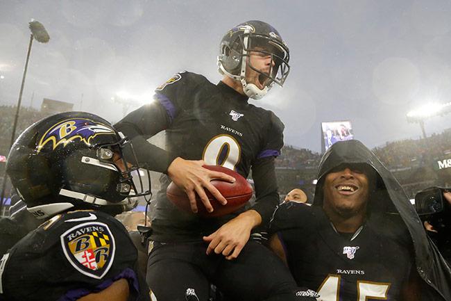 Ravens se lleva el partido de la fecha ante 49ers