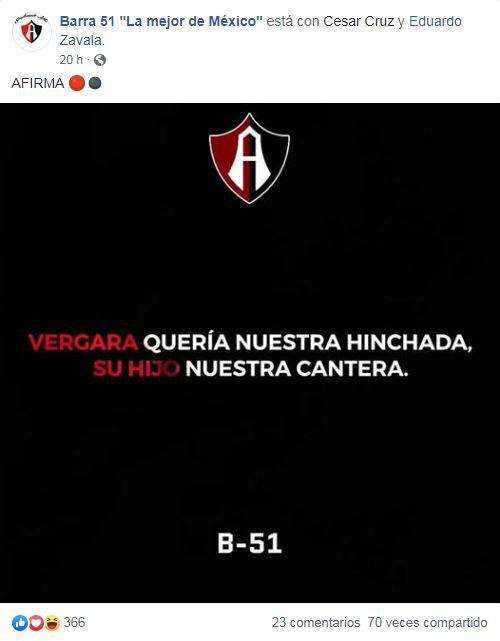 """FACEBOOK Barra 51 """"La mejor de México"""""""