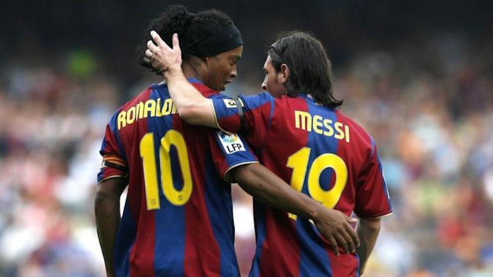 Ronaldinho, sobre Messi: