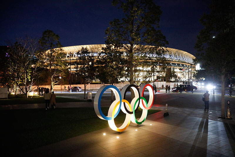 Japón presenta el estadio olímpico de Tokio 2020