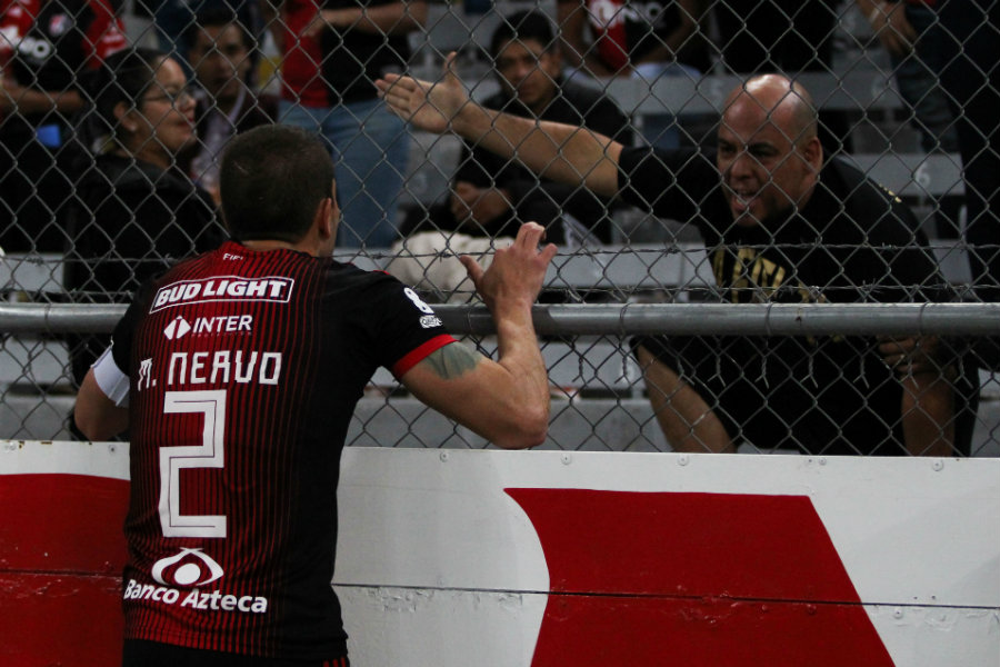 Hugo Nervo solicita  al afición detener el grito