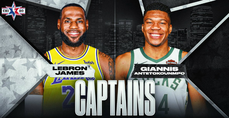 Capitánes del All Star