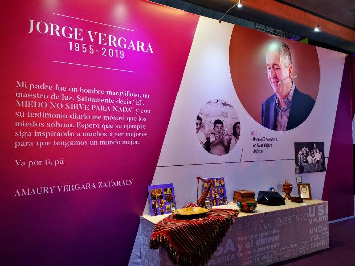 Inauguran museo en honor a Jorge Vergara