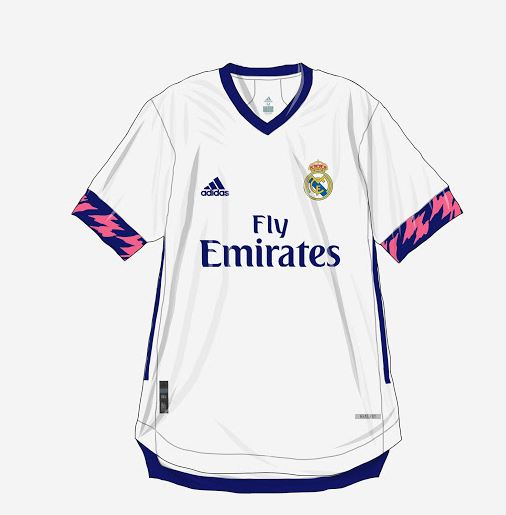 Posible playera del Real Madrid