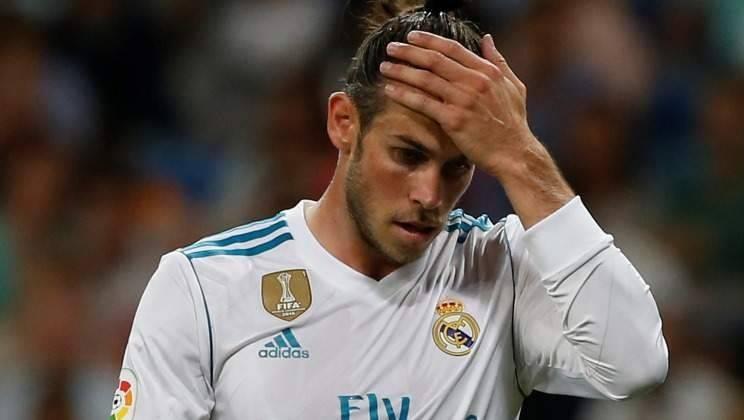 Gareth Bale en lamento con Real Madrid