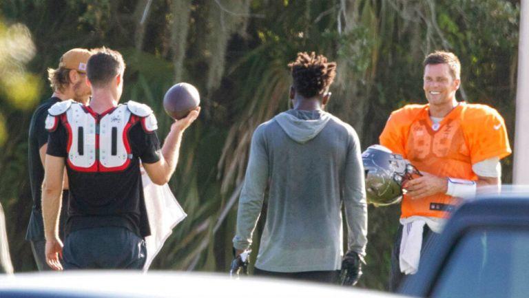 La NFLPA condenan entrenamientos de Brady y Wilson