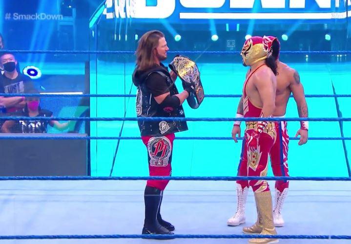 WWE: Gran Metalik enfrentará a AJ Styles por el campeonato ...