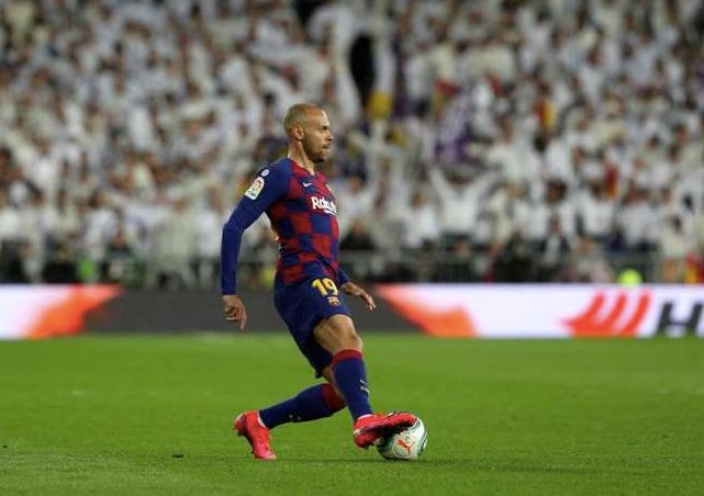 El Barcelona no cuenta con Martin Braithwaite y le busca una salida