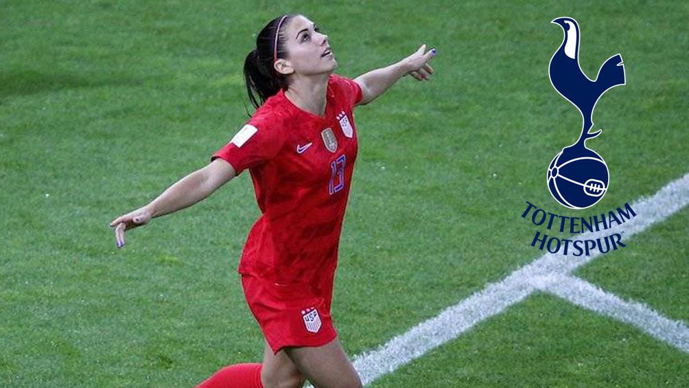 Alex Morgan La Estadounidense Habria Acordado Fichaje Con Tottenham Hotspur Women Record
