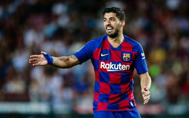 Luis Suárez dejó al Barcelona