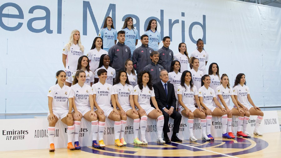 Foto oficial del Real Madrid Femenil