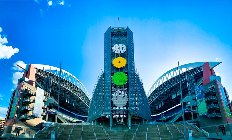 El estadio de Seattle
