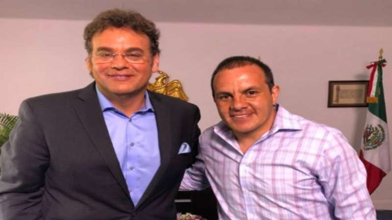 Cuauhtémoc Blanco y David Faitelson