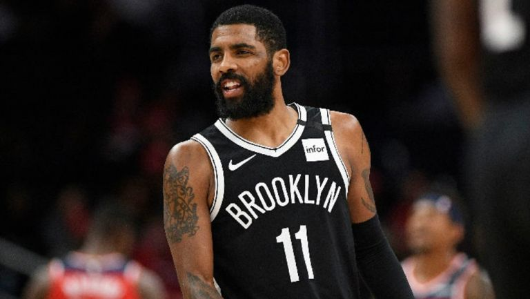 Kyrie Irving reportó con los Brooklyn Nets