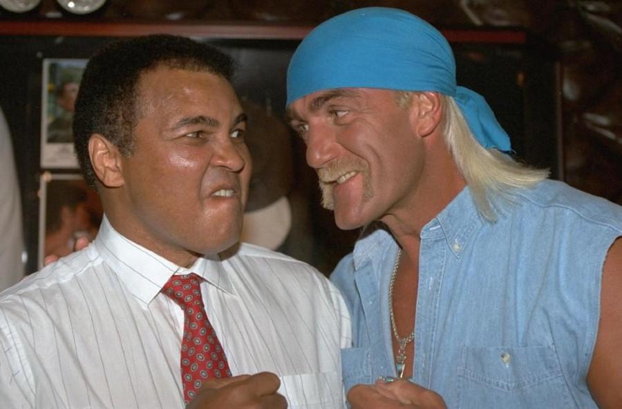 Muhammad Ali apareció cono referee
