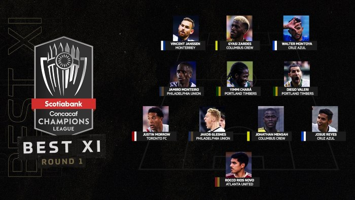 XI ideal de los Octavos de Final
