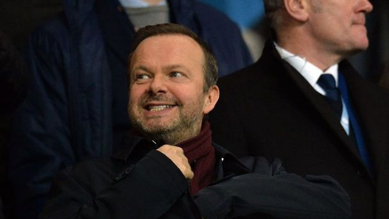 Ed Woodward, vicepresidente del Manchester United