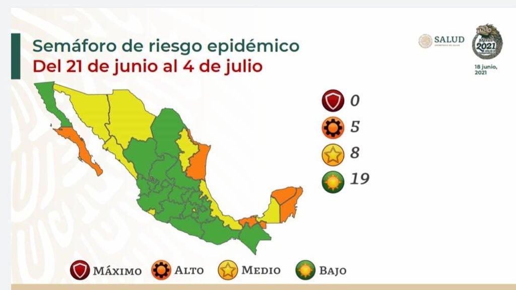 Estado de Chihuahua permanecerá en semáforo amarillo