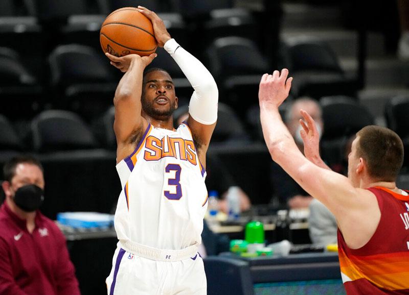 Suns point guard takes a shot