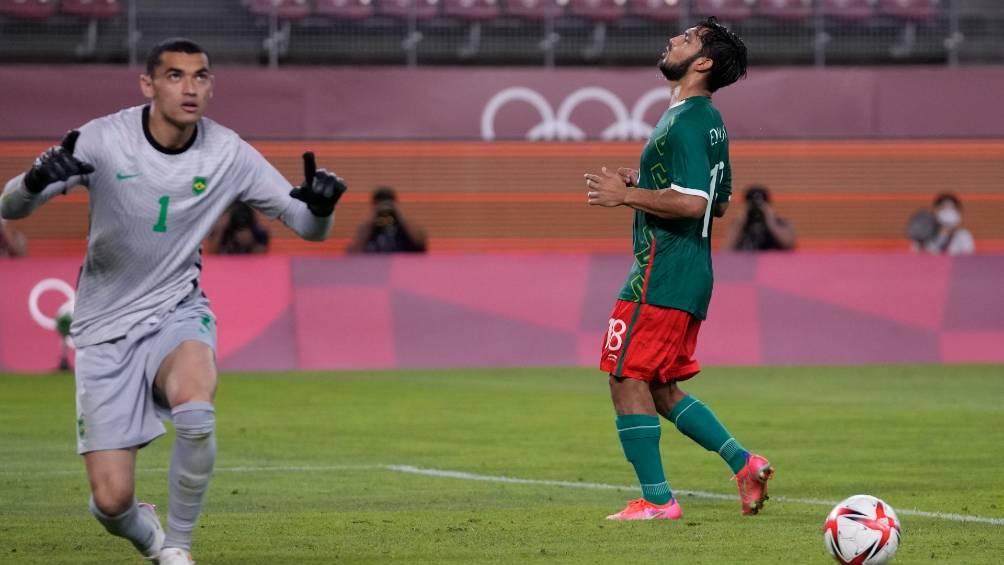 Jaime Lozano: 'Yo pregunto y todos querían tirar contra Brasil.Me da pena por Eduardo Aguirre'