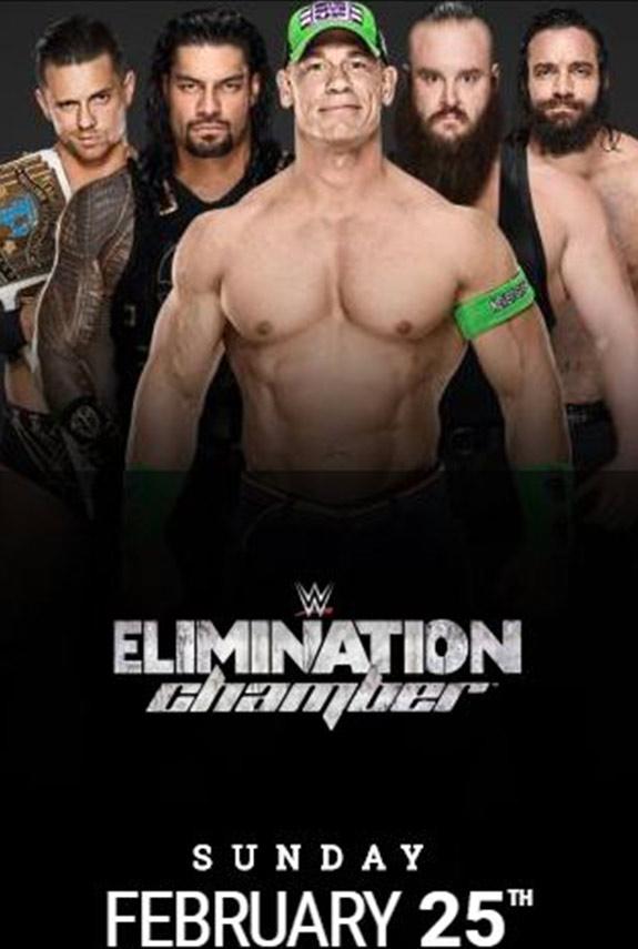 WWE presenta Elimination Chamber