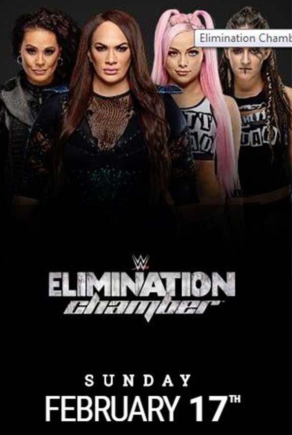 Elimination Chamber por títulos femeninos en pareja