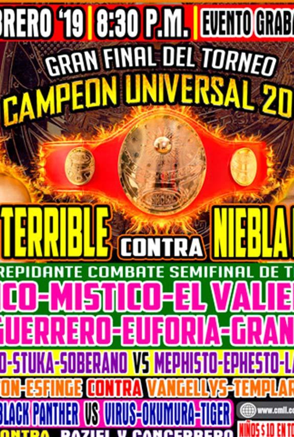 Habrá nuevo Campeón Universal