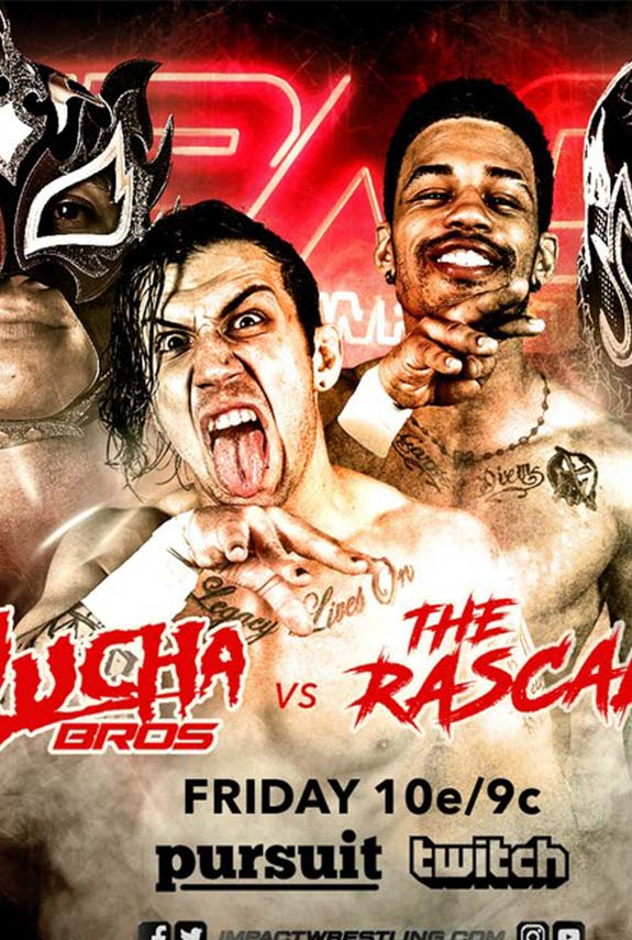 Lucha Brothers enfrentan a The Rascalz