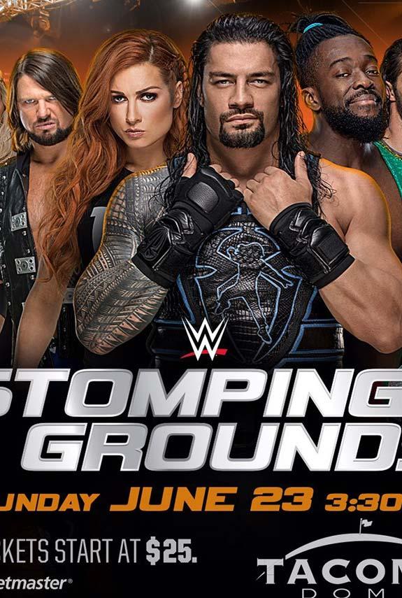 Stomping Grounds, el próximo PPV de WWE