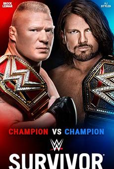 Brock Lesnar vs AJ Styles en Survivor Series