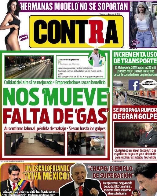 Contra Portada RÉCORD 2019-01-11
