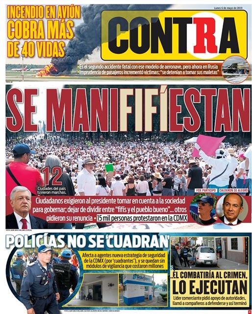Portada Contra 06-05-2019